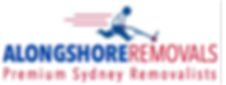 Logo Alongshore Removals, Premium Sydney Removalists and storage