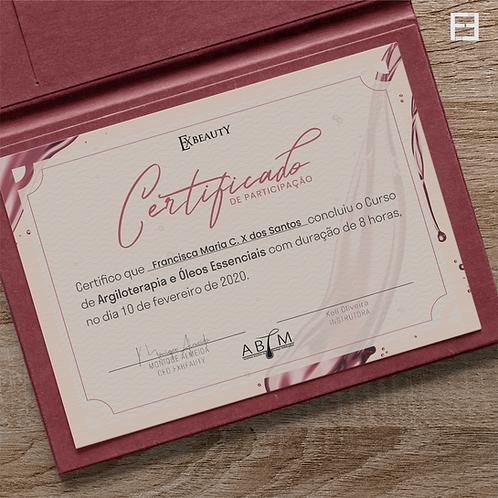Certificados A5 - Casca de Ovo - Frente