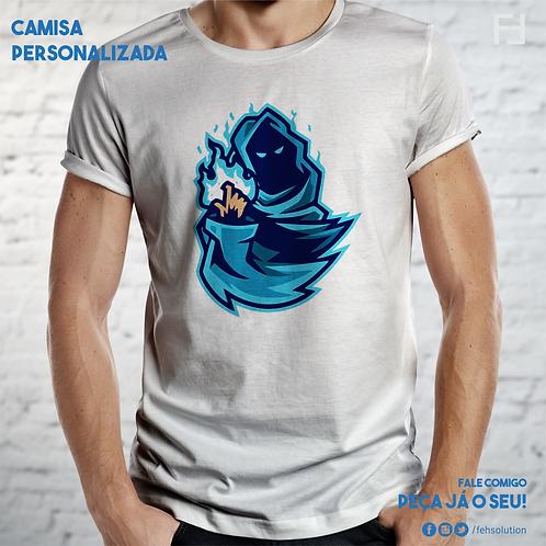Camisa Algodão - Serigrafia - Branca