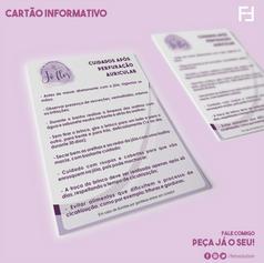Cartão Informativo