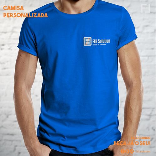 Camisa Algodão - Serigrafia - Colorida