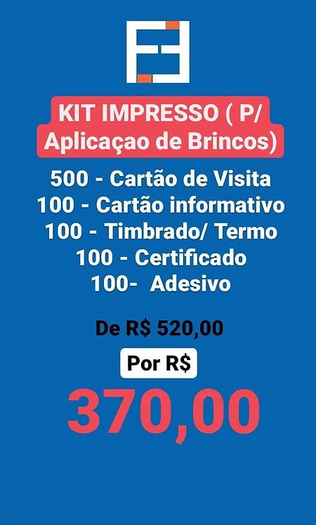 Kit Furinho de Brinco