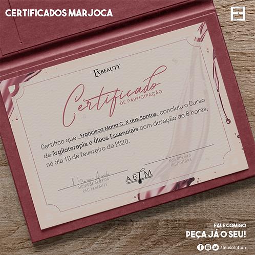 Certificados A4 - Marjoca - Frente