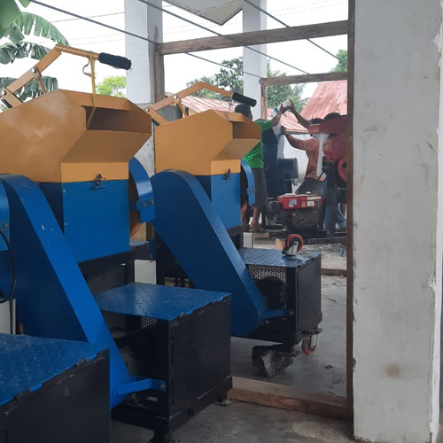 Les machines pour broyer le plastique