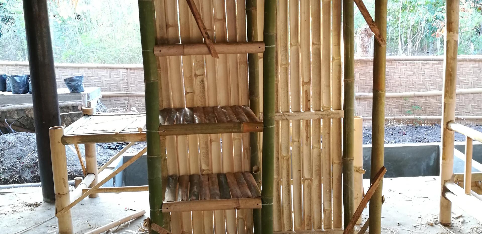 bamboo wardrobe