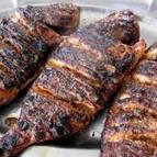 Grilled Fish Amu Dahi