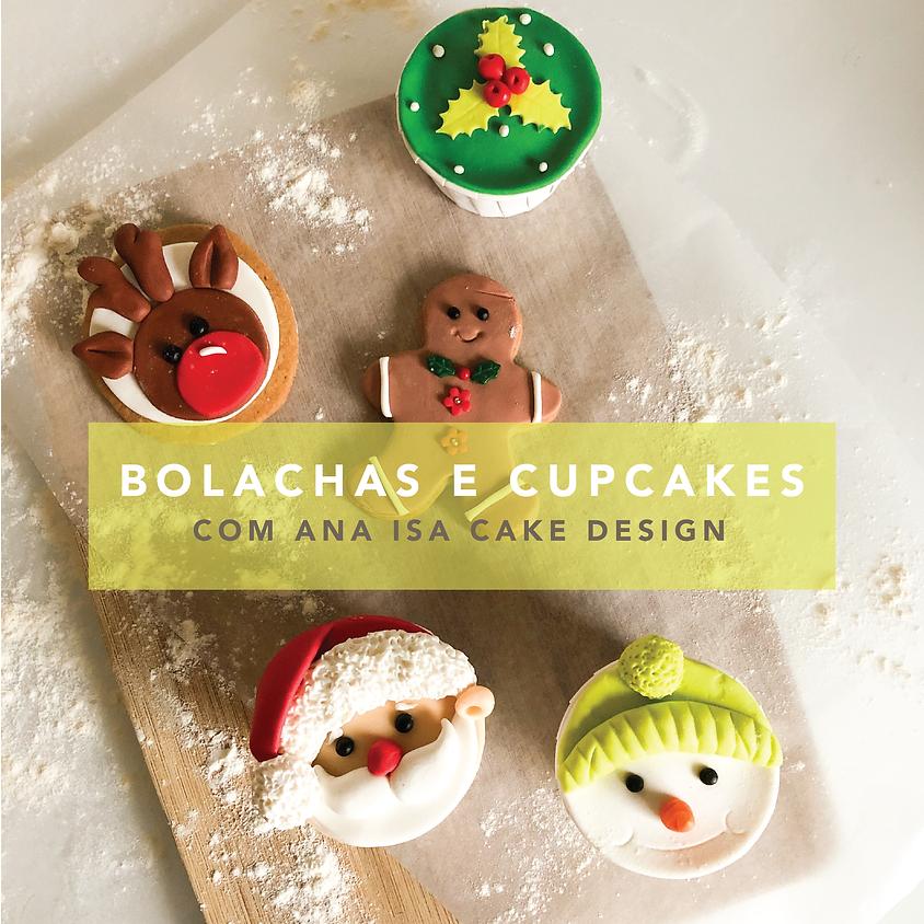 Cake Design: Cupcakes e Bolachas