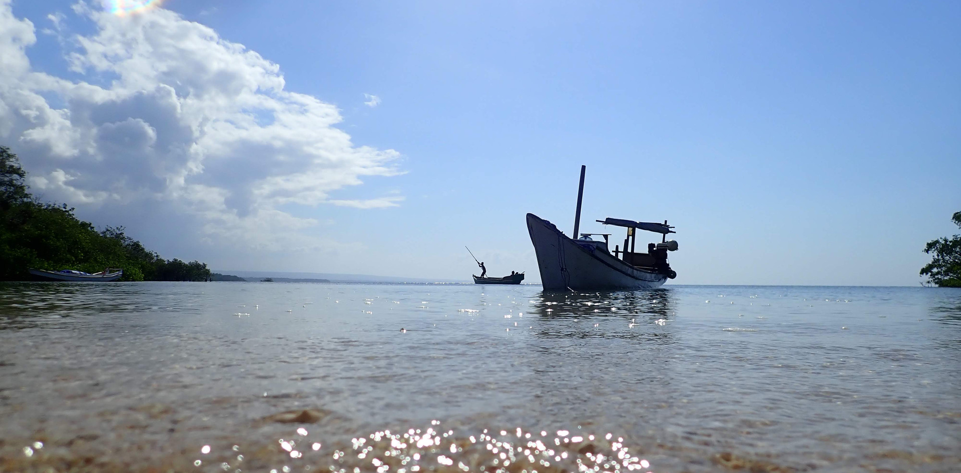 Boat trip Sumba
