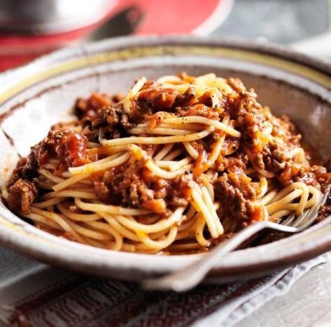 Spaghetti Bolognaise Amu Dahi