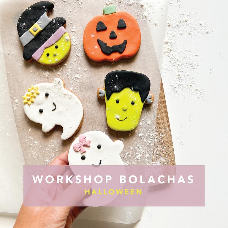 Workshop Decoração de Bolachas Halloween