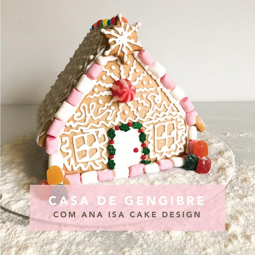 Cake Design: Casa de Gengibre
