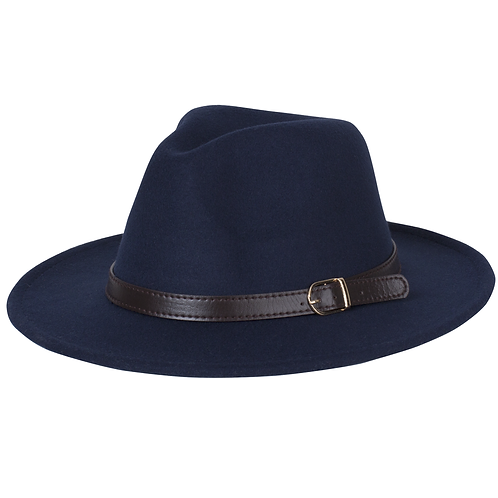 Children's Fedora | Navy Blue
