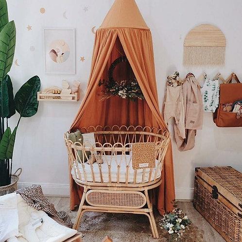 Linen Canopy | Rust