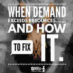 When Demand Exceeds Resources | When To Say No | How to Balance Wants And Needs