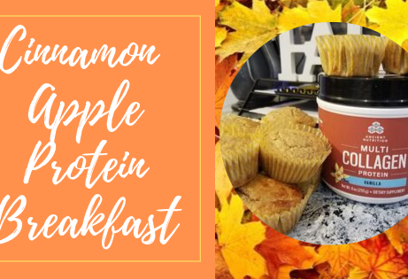 Cinnamon Apple Protein Pancakes (or Muffins)