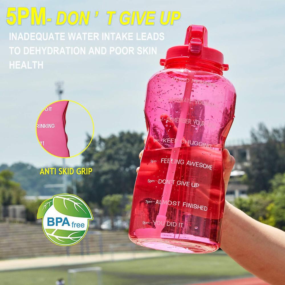 Motivational Water Bottle Tracker