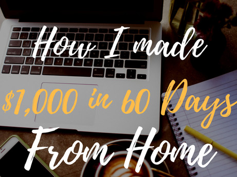 How Coffee Earned Me $1,000 in 60 Days