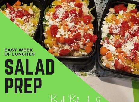 Easy Salad Weekly Meal Prep
