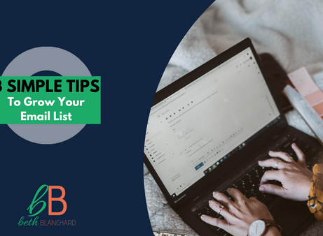 3 Email Tips To Start or Grow Your List TODAY