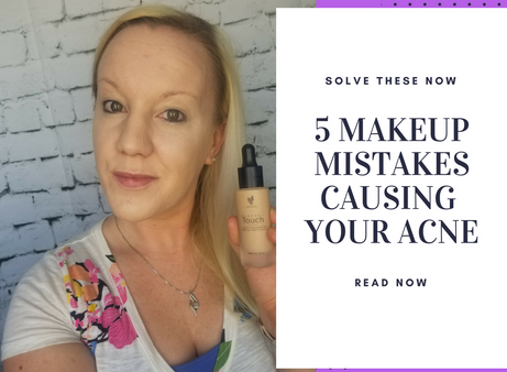 5 Makeup Mistakes Causing Your Acne