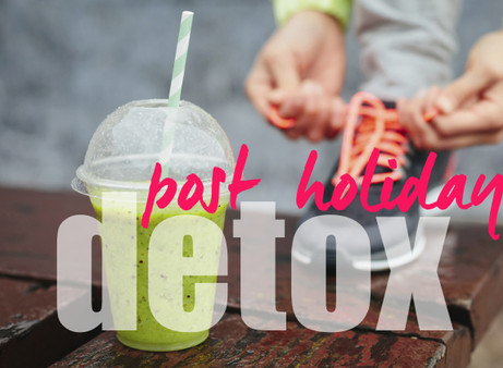 The Holiday Hangover: 3 ways to detox