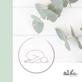 Berce O Féminin  - Logo © al.ba graphic design
