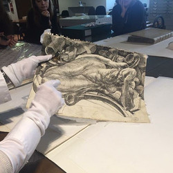 #AGRoma #istitutocentraleperlagrafica #conservationlab #velly #drawing