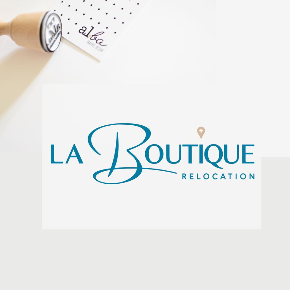 al.ba - logo sur mesure © albagraphicdesign La Boutique relocation
