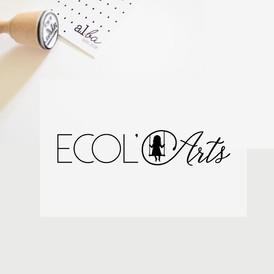 al.ba - logo sur mesure © albagraphicdesign  Ecol'Arts