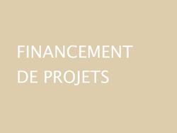 FINANCEMENT DE PROJETS GWCM