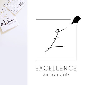 al.ba - logo sur mesure © albagraphicdesign Excellence en français