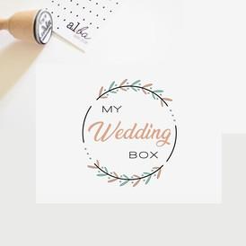 al.ba - logo sur mesure © albagraphicdesign My Wedding Box