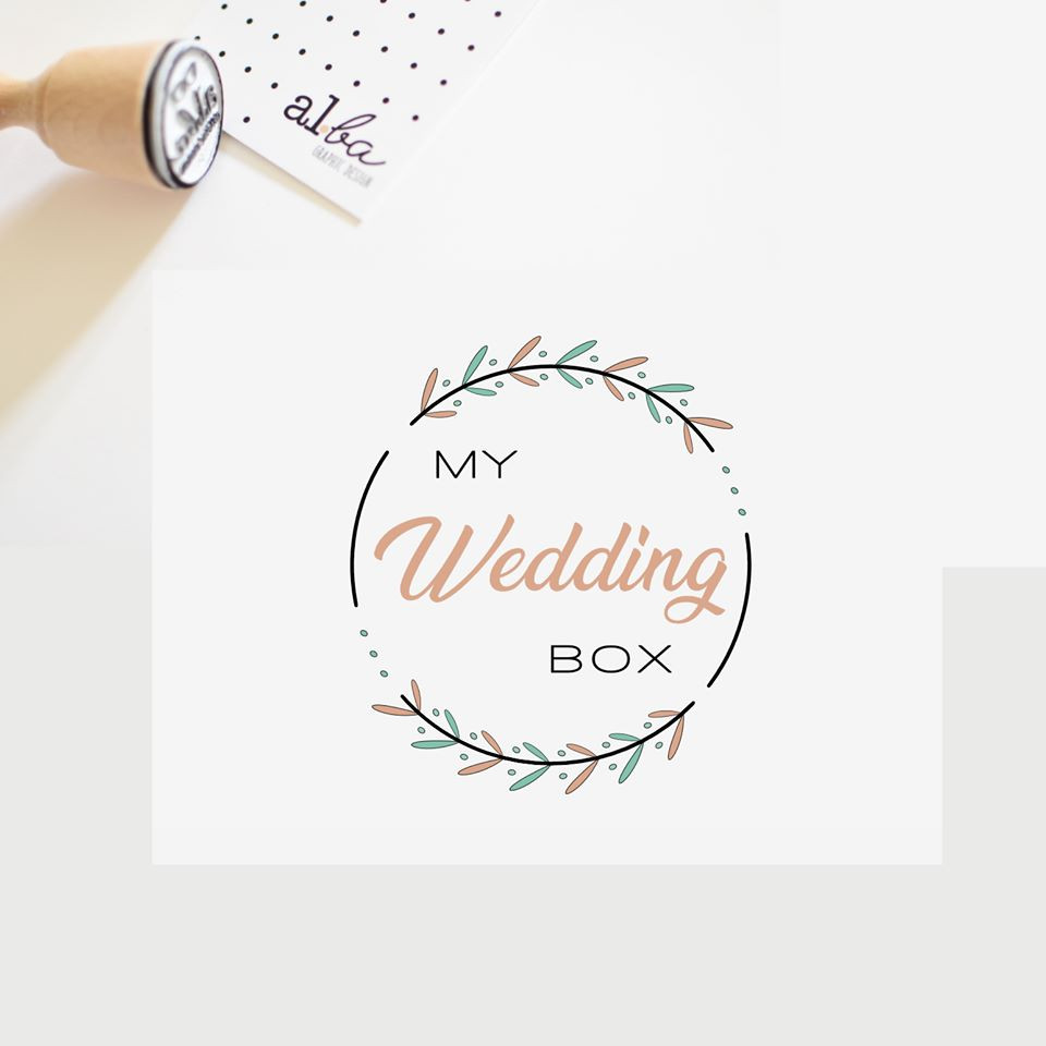 al.ba - logo sur mesure © albagraphicdesign My Wedding Box
