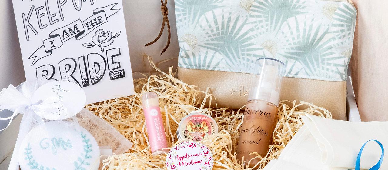 © My Wedding Box CH - cadeau mariage - box jour J