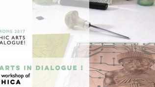 SAVE THE DATE - Graphic arts in Dialogue! Rome 21-24 June 2017