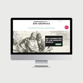 Ars Graphics site internet - © al.ba, @albagraphicdesign
