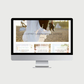 My Wedding Box site internet - © al.ba, @albagraphicdesign