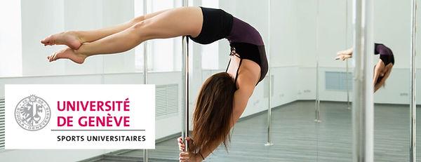 Cours unige Pole Dance - Aerial Dance Geneva