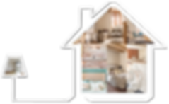 CSinterieur, location de mobilier, homestaging, made by al.ba graphic design