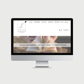 Excellence Français site internet - © al.ba, @albagraphicdesign