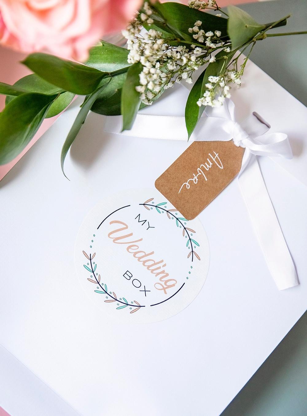 Pochette cadeau mariage, pochette cadeau suisse, coffret cadeau suisse, coffret cadeau mariage suisse, local, artisanal, cadeau mariage original
