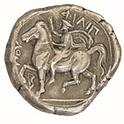 Philippe à cheval, au nom du roi