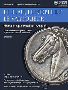 expo monnaies chevaux Genève 2020