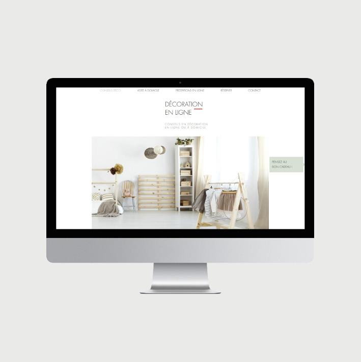 Décoration en ligne site internet - © al.ba, @albagraphicdesign
