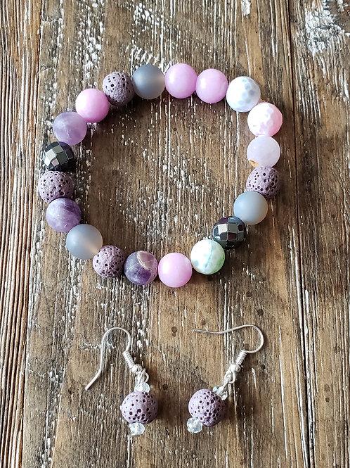 Survivor Bracelet & Earring Set - Be Still