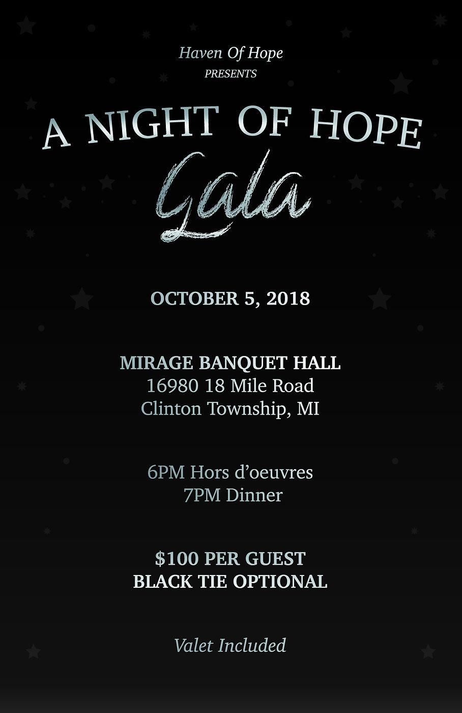 Hope Gala Fundraier