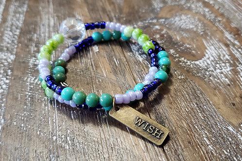 Survivor Bracelet - Glass & Plastic Beads