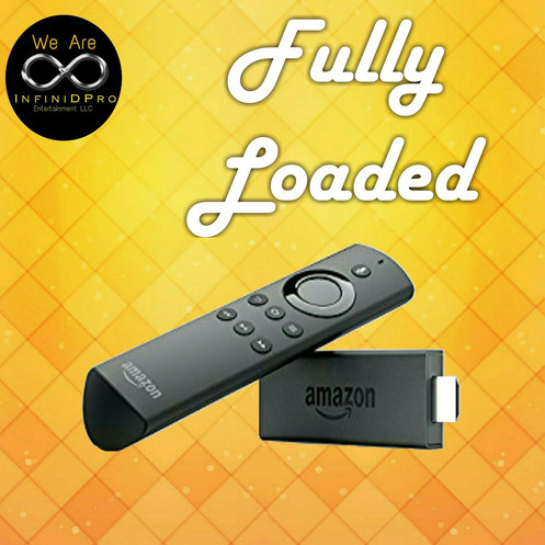 Fully Loaded Unlocked Fire TV Stick