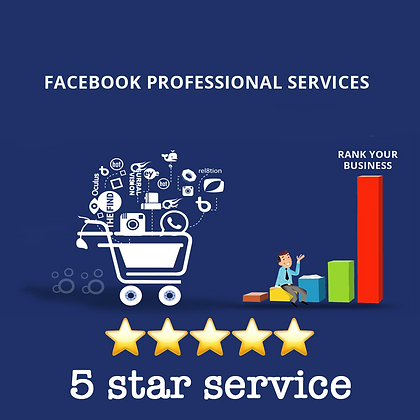 300 5-stars Facebook Rating