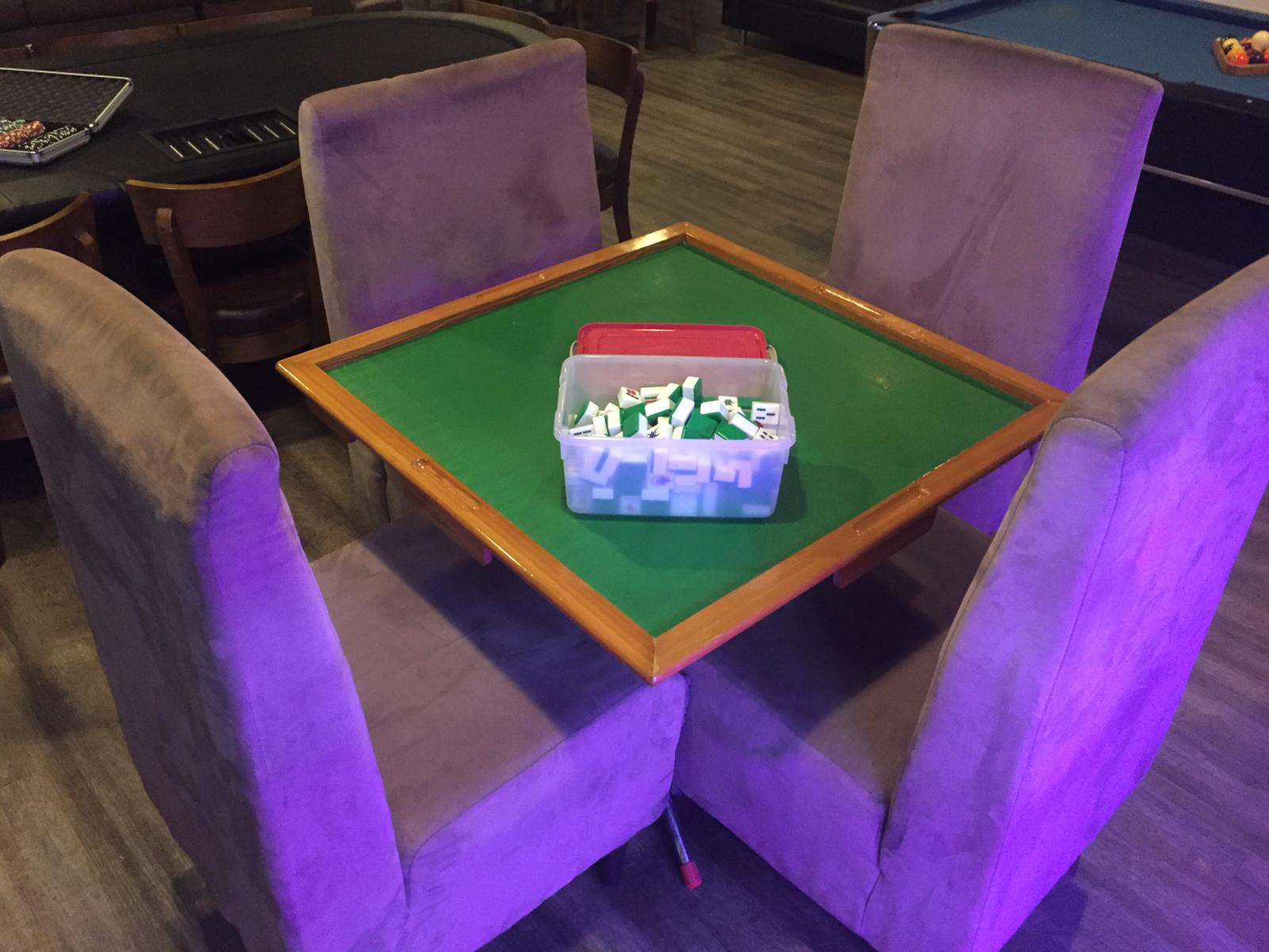 mahjong table event space singapore